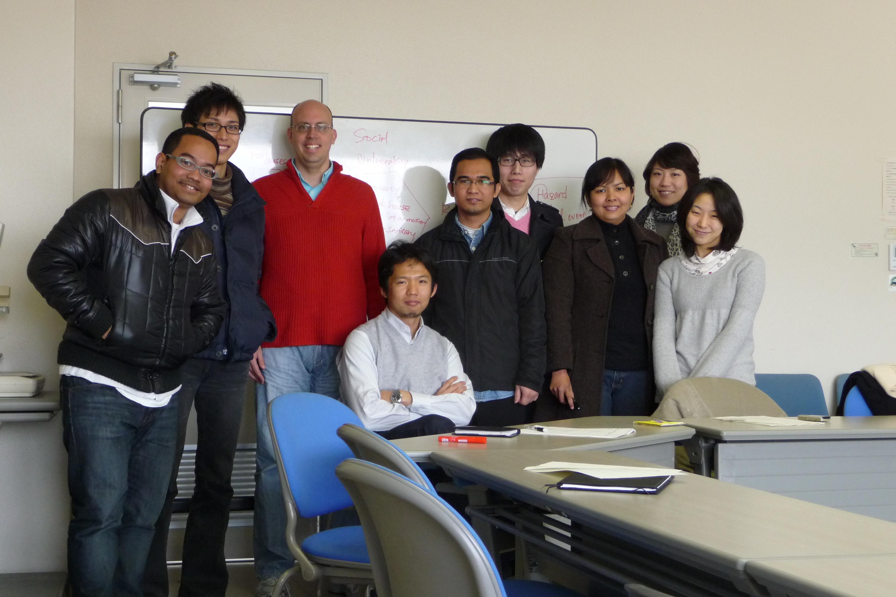 members of shimada's seminar